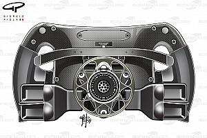 Mercedes introduce unos agujeros en su volante para ayudar en las salidas