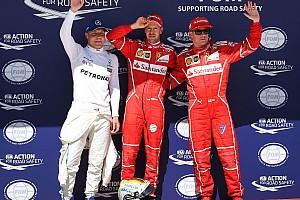 F1 Resultados La parrilla de salida del GP de Hungría