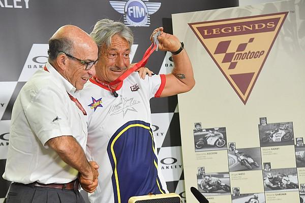 Lucchinelli dinobatkan sebagai Legenda MotoGP