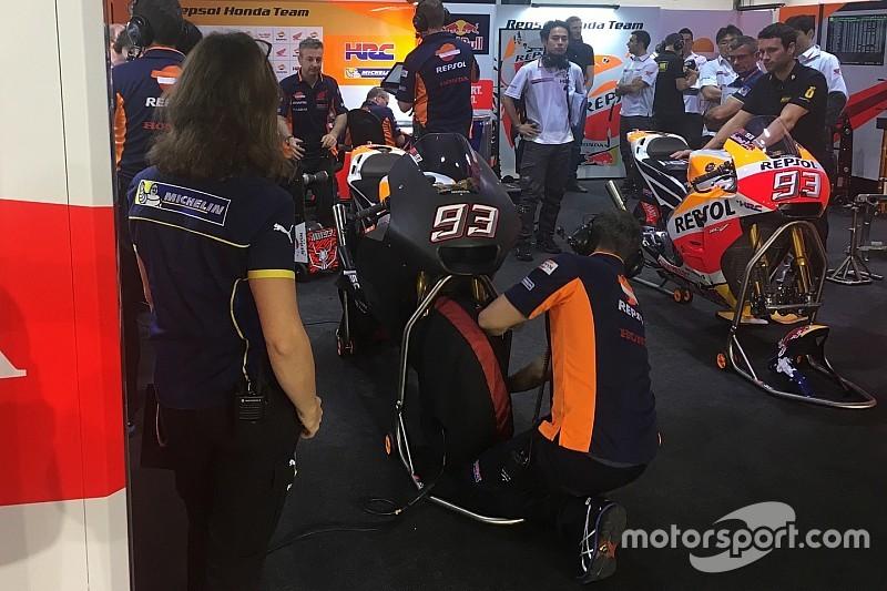 Маркес протестував новий обтічник Honda з вражаючим дизайном