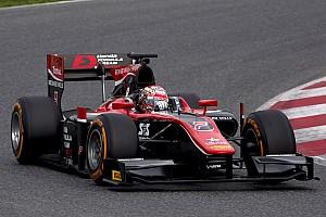 FIA F2 Репортаж з тестів Юніор McLaren Мацусіта виграв перші тести Ф2