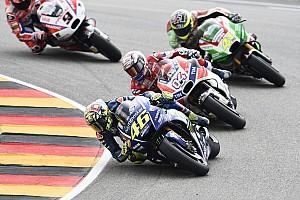 """MotoGP Noticias de última hora Aleix Espargaro: """"Hay que estar satisfechos, luchamos con un tal Rossi"""""""