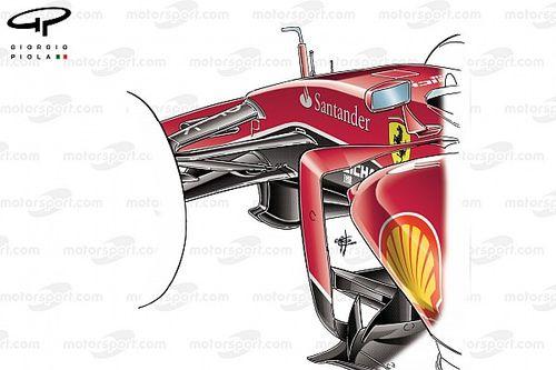 Ferrari F1 2022: sospensione pull anteriore e push posteriore?