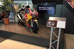 Superbikes Nieuws Ten Kate opent condoleanceregister voor Nicky Hayden