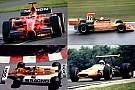 Fotostrecke: Die Farbe Orange in der Formel 1