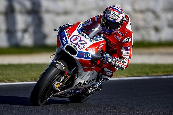 """MotoGP Dovizioso admits Ducati improvements are """"not enough"""""""