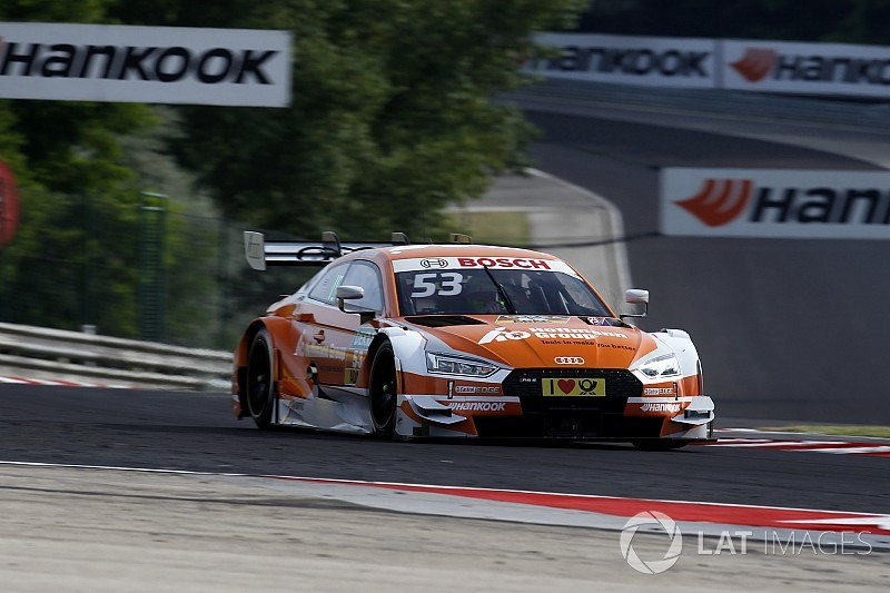 DTM на Хунгарорингу: Audi очолила топ-5 другого тренування