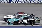 NASCAR XFINITY Denny Hamlin's Xfinity win at Michigan ruled 'encumbered'