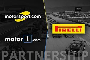 Partneri megállapodást kötött a Pirelli World Challenge és a Motorsport Network
