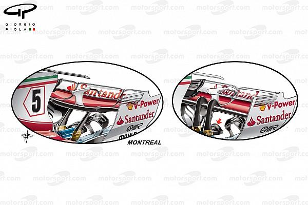 Technique - Les évolutions de Ferrari au GP du Canada