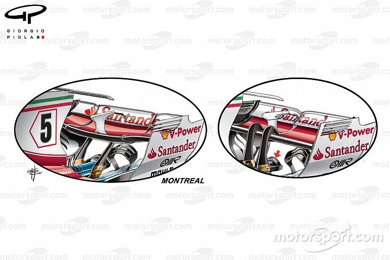 Технічний аналіз: оновлення Ferrari для середнього рівня притискної сили