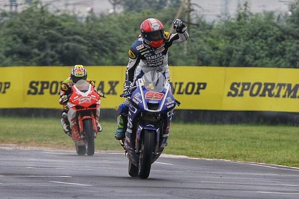 ARRC Race report ARRC India: Galang berjaya, pesta juara Gerry tertunda