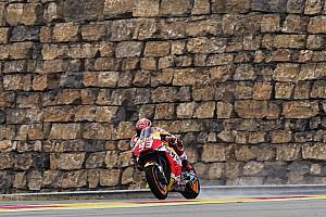 MotoGP Antrenman raporu Aragon MotoGP 3. Antrenman: Kuru zeminde Marquez lider!