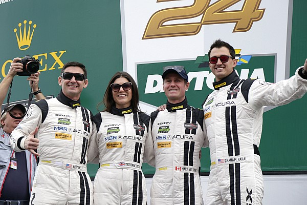 Katherine Legge reflects on Daytona 24 with Michael Shank Racing