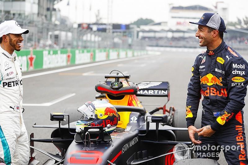 Ricciardo: Hamilton'ın aracı harika fakat kendisi de başarıyı hak ediyor