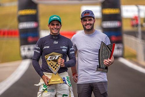 Julio Campos e Léo Torres lideram campeonato na abertura da GT Sprint Race 2021