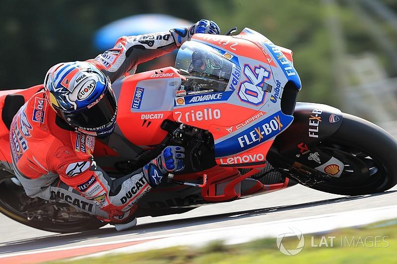 MotoGP FP1 Spielberg: Ducati bestimmt das Tempo