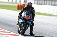 """MotoGP: Quartararo torna """"Diablo"""" a Barcellona, Rossi cade"""