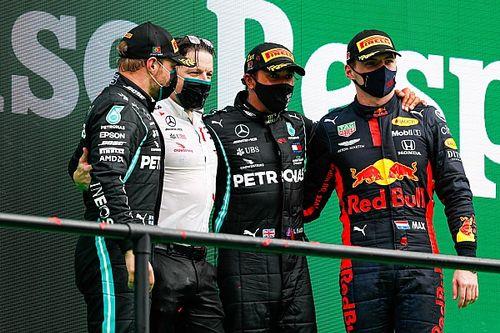 F1: Verstappen diz que não gosta de 'segurar vela' para Mercedes nos pódios em 2020