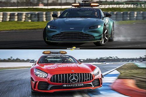 In beeld: Nieuwe safety cars en medical cars voor F1-seizoen 2021