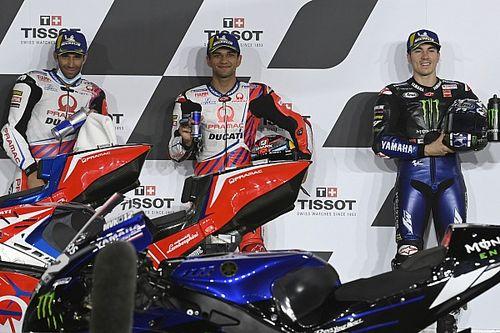 La grille de départ du GP de Doha MotoGP