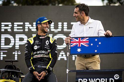 F1: Abiteboul explica motivo de frustração e indiretas a Ricciardo após anúncio de ida à McLaren