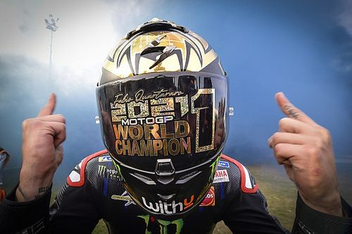 Deretan Rekor Fabio Quartararo Usai Juara Dunia MotoGP 2021