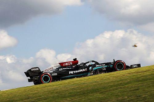 VÍDEO: Veja 'truque' da Mercedes nas retas; equipe nega irregularidade
