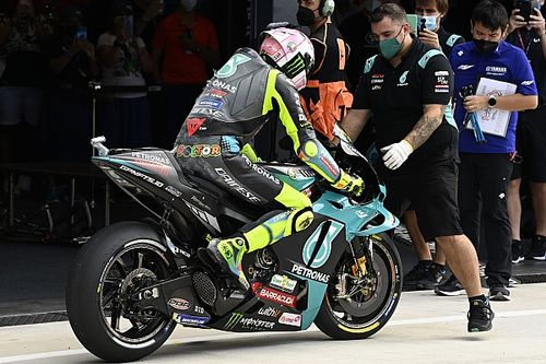 バレンティーノ・ロッシ、サンマリノGP予選Q1クラッシュ&23番手に終わる「実に苛立たしい結果」