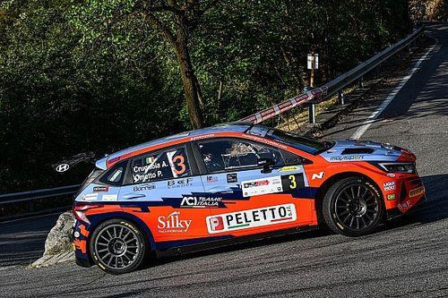 CIR, 1000 Miglia, PS1: Crugnola subito al top con la i20 Rally2