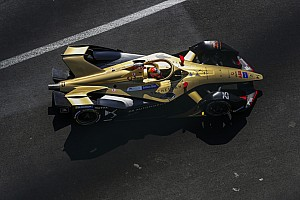 Vergne leads Formula E test in Mexico