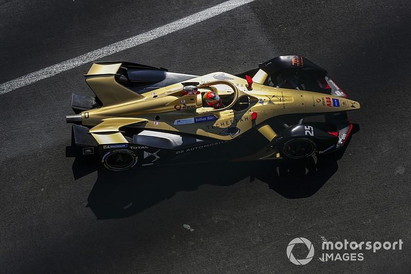 Vergne lidera el test de Mexico de la Fórmula E