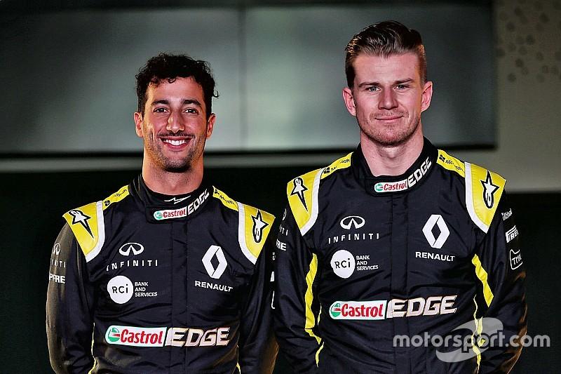Pérez convaincu que Hülkenberg va battre Ricciardo