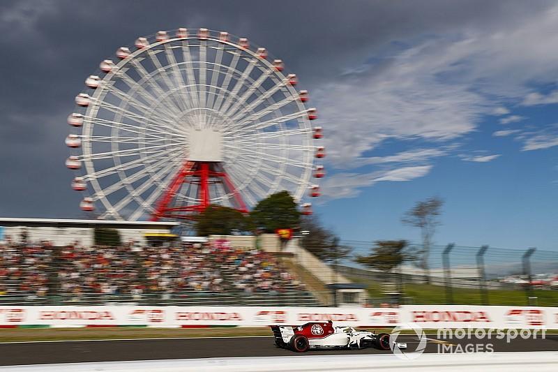 Fotogallery: l'Alfa Romeo Sauber nel Gran Premio del Giappone