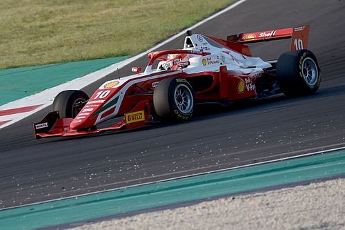 Formula Regional, Misano, Gara 3: Petecof su Leclerc
