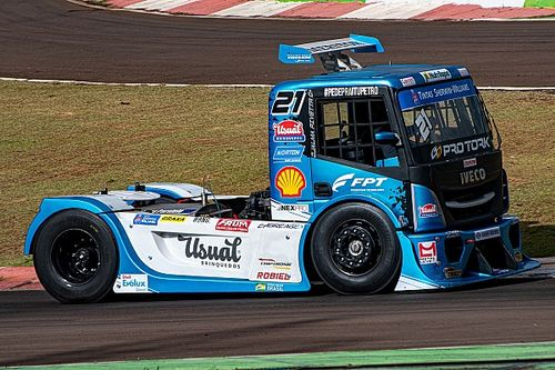 Shell entra na Copa Truck a bordo do caminhão de Djalma Pivetta