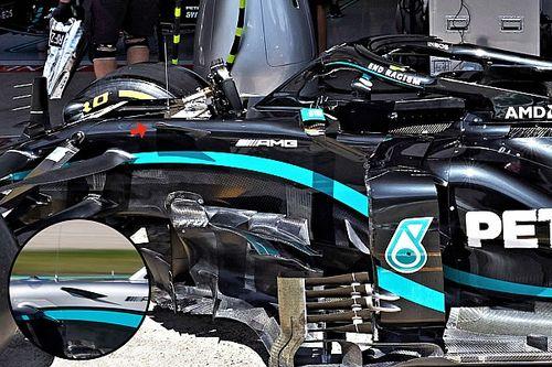 GALERÍA TÉCNICA: Los últimos desarrollos técnicos clave en los F1