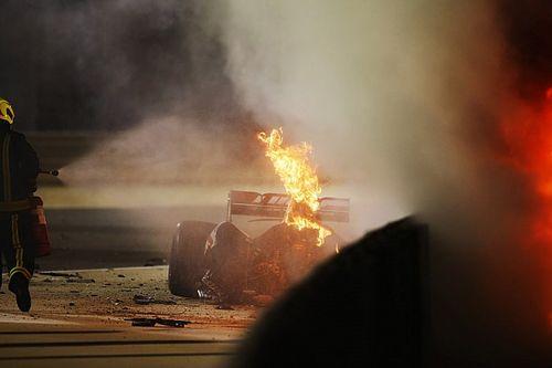 Crash de Grosjean : Ricciardo critique les images TV, la F1 assume