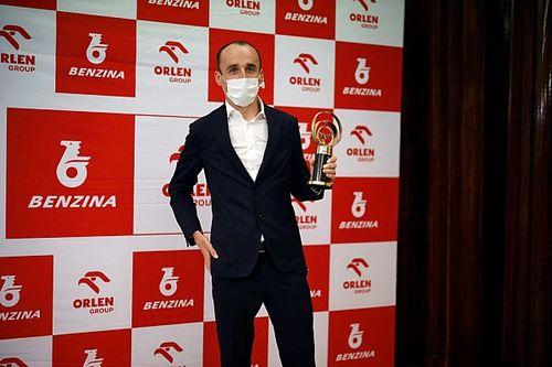 Kubica nagrodzony w Pradze