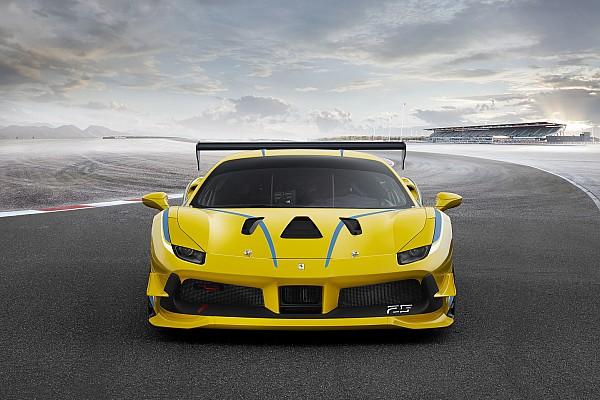 Ferrari Ferrari reveals turbocharged 488 Challenge car for 2017