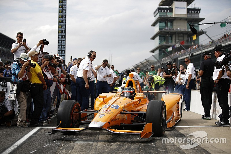 【インディ500】アロンソ「ファスト9に向けてもっと速さを引き出す」