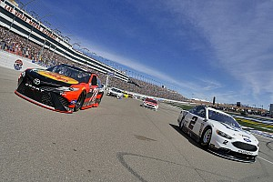 NASCAR Cup Race report Truex takes Stage 2 win over Keselowski at Las Vegas