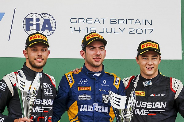 FIA F2 Race report F2 Silverstone: Latifi menangi Sprint Race, Gelael melintir