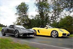 Automotive News Roadster-Vergeich: Porsche Boxter GTS vs. Lotus Exige S