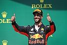 """Ricciardo: """"Meleg volt a helyzet, de megvan a dobogó"""""""