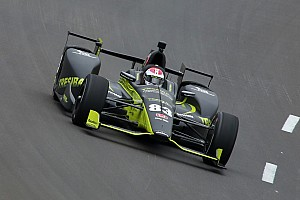 IndyCar Qualifyingbericht IndyCar in Fort Worth: Pole-Premiere für Charlie Kimball