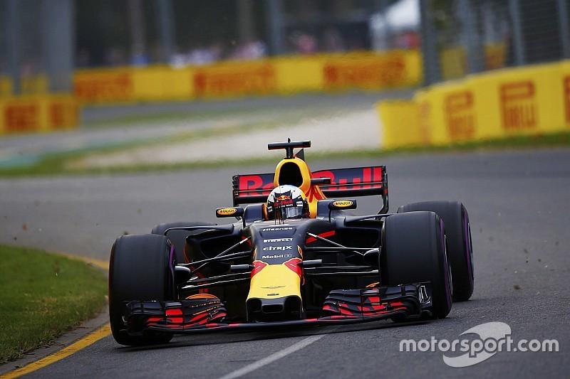 Ricciardót meglepetésként érte, ahogy kitört az RB13 hátulja