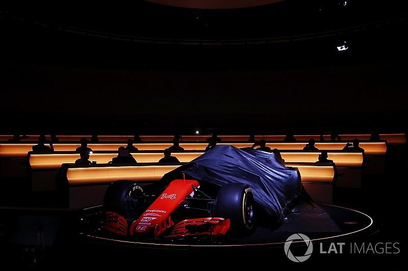 Las fechas de las presentaciones de los nuevos F1