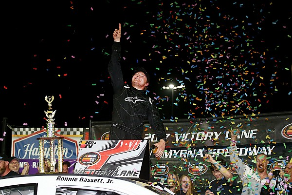 NASCAR Ronnie Bassett Jr. earns first K&N East win in season opener