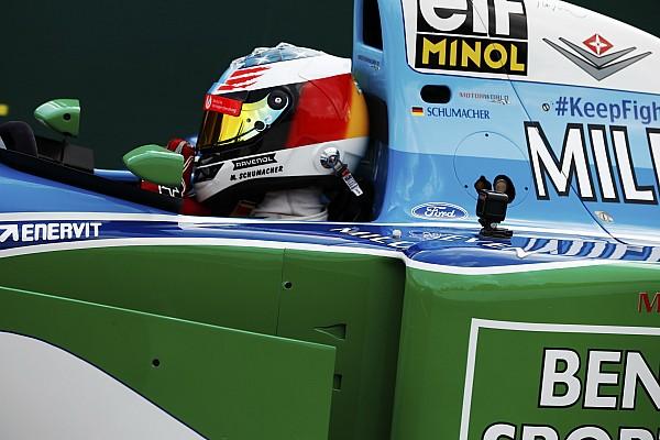 Онборд: Мік Шумахер на першому чемпіонському боліді свого батька